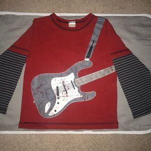 GYMBOREE guitar shirt